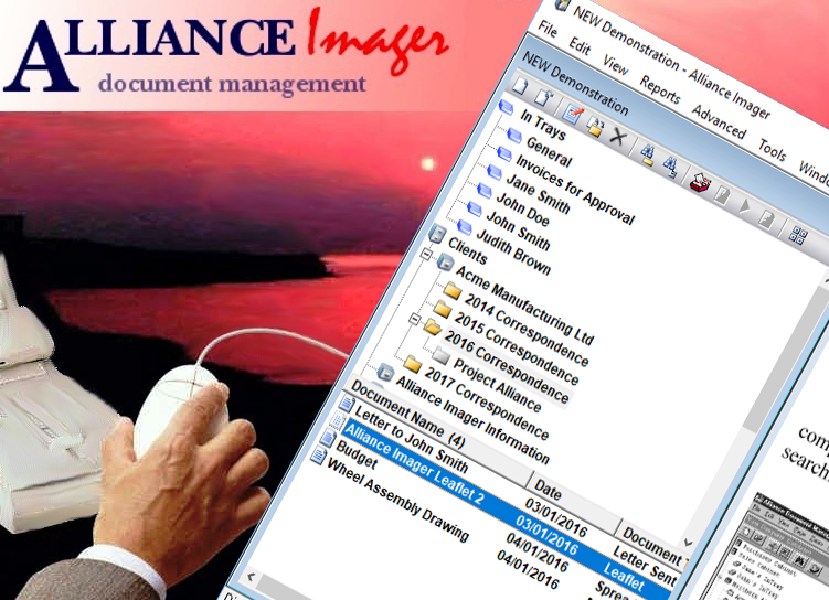 Alliance Imager document management